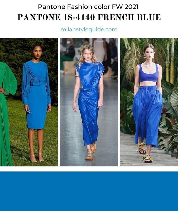 PANTONE 18-4140 French Blue - Французский синий