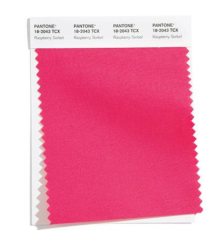 модные цвета пантон лето 2021 PANTONE 18-2043 Raspberry Sorbet - Малиновый сорбет