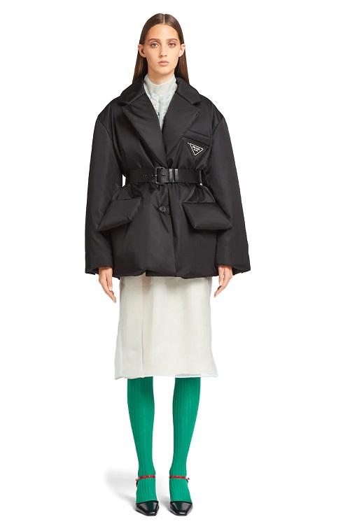 модная куртка Prada 2021 модные тенденции куртка пиджак