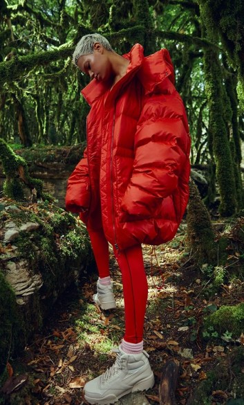 модные оверсайз пуховики зима 2020 2021