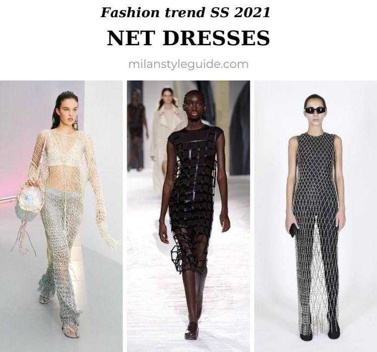 модный тренд весна лето 2021 сетка