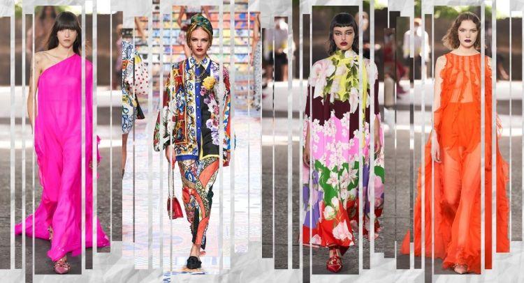 модные тенденции весна лето 2021 фасоны стили расцветки
