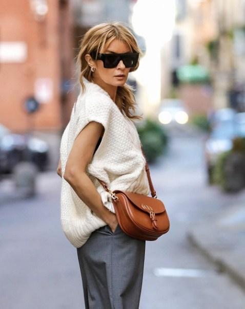 модные сумки через плечо 2021 как модно носить