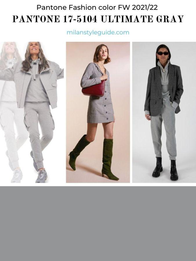 модный цвет осень-зима 2021-2022 в одежде