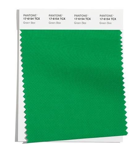 модный зеленый цвет Пантон осень зима 2021 2022
