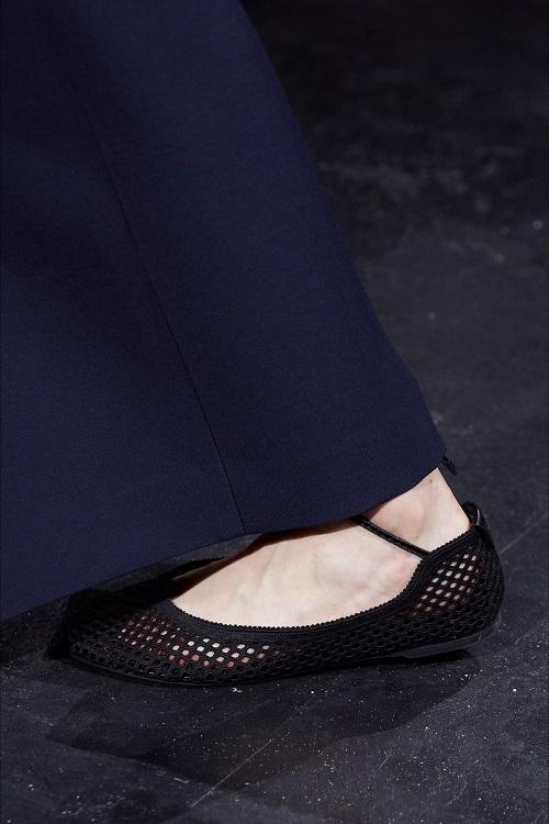 модная обувь весна 2021 тренд сетка