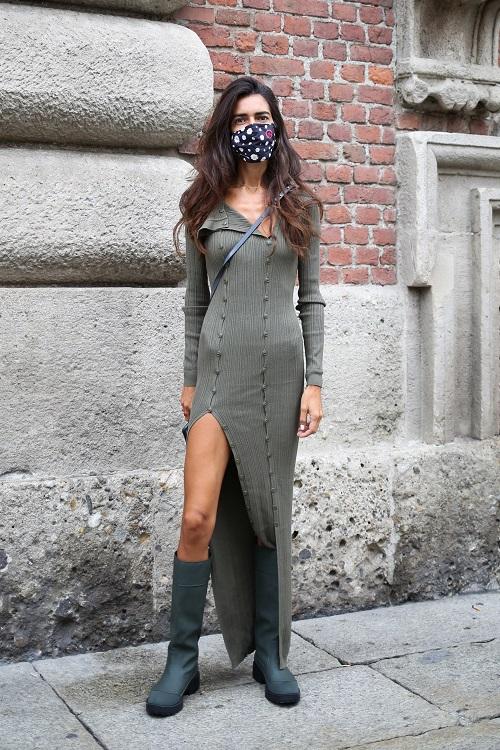 модные резиновые сапоги 2021