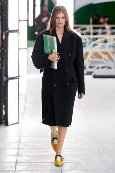 Модные пальто 2021 2022 тренд черное пальто