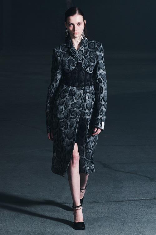 Модные пальто 2021 2022 тренд леопардовое пальто