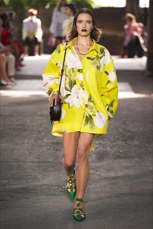 модные платье рубашка весна лето 2021