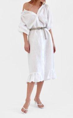 модное платье рубашка весна лето 2021