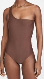 модный коричневый купальник Jade Swim Evolve