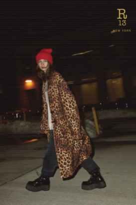 модные тренды осень зима 2021 2022 леопардовое пальто