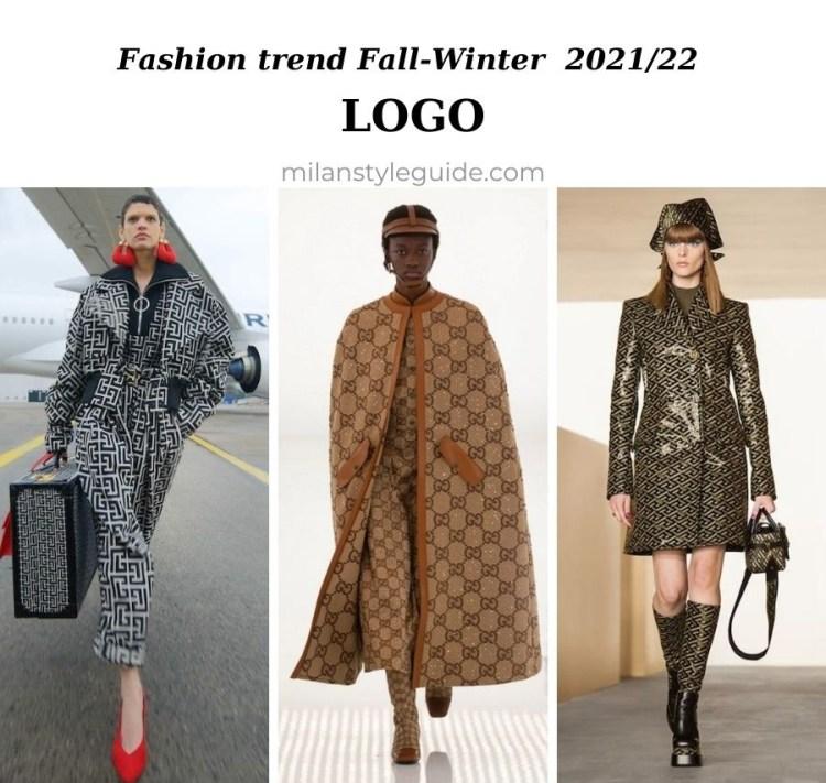модная тенденция осень зима 2021 2022 лого