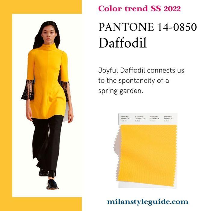 PANTONE 14-0850 Daffodil - Нарцисс