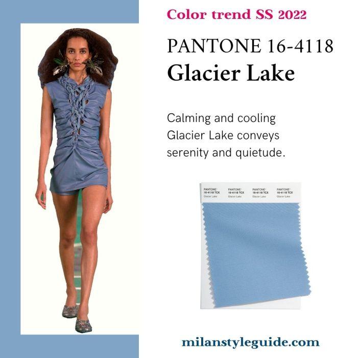 PANTONE 16-4118 Glacier Lake - Ледяное озеро