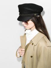 модные шапки кепи осень зима 2021 весна 2022 тренд
