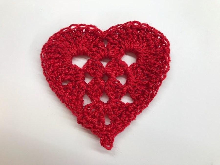Heart-Crochet|MI CORAZÓN EN CROCHET width=