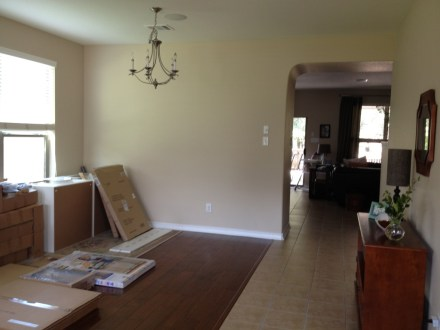 Living-Dining room combo until recently