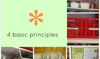 simple organization principles