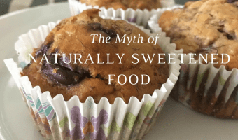 The myth of naturally sweetened food.