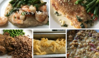 This Week's Menu  | September 25