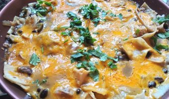 Quick chicken enchilada skillet
