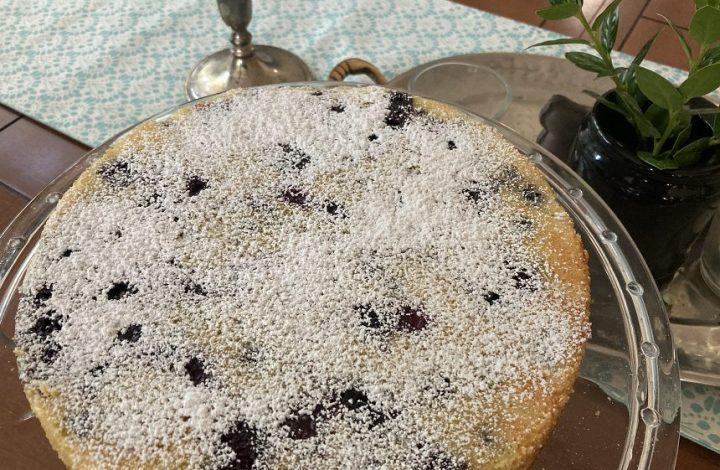 blueberry lemon olive oil cake
