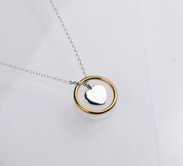halsband,silver,guld