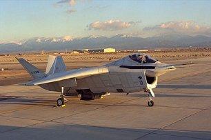 X-32 prototype