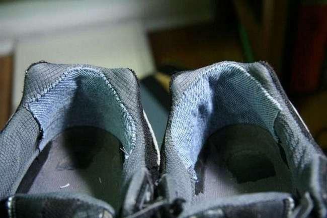 Если обувь рвется на задниках