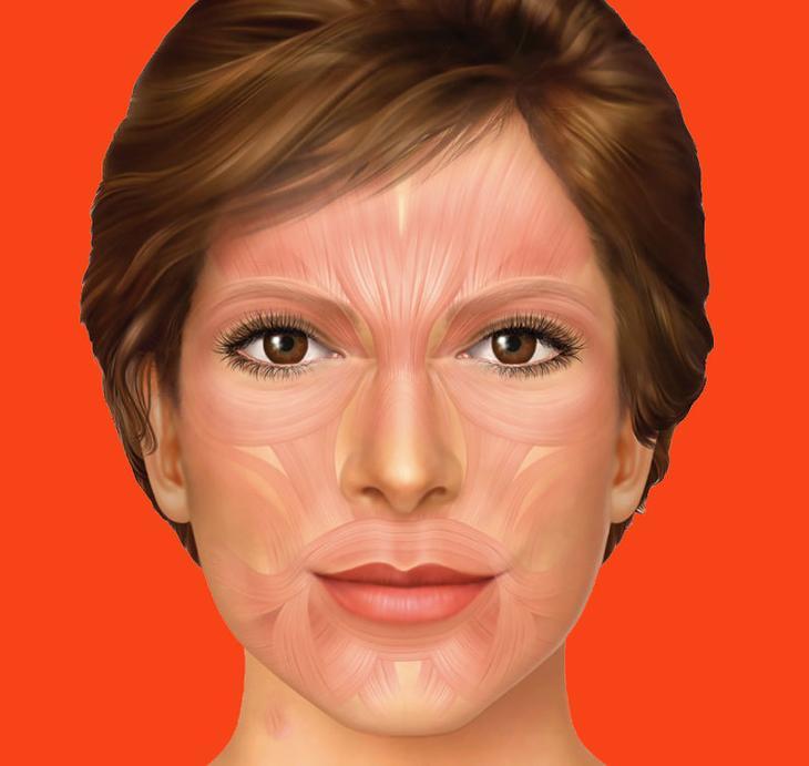 Выглядим моложе без операций и уколов. Техника, которая «поднимает» щеки и устраняет отеки и провисания!