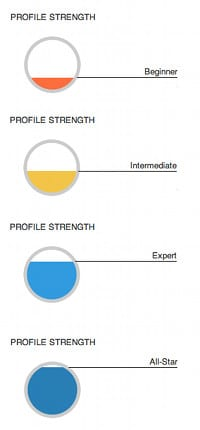 Profile Strength - Perfil Exitoso en LinkedIn