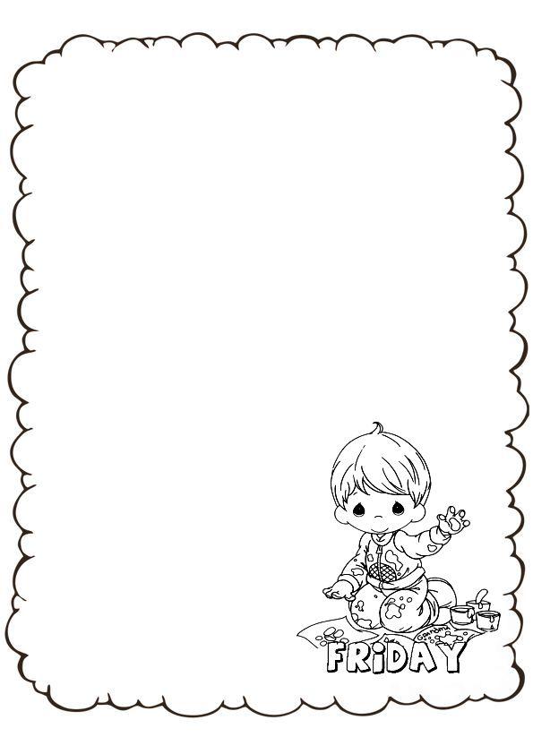 Dibujos De Ninos: Dibujos Para Hacer Caratulas De Ingles