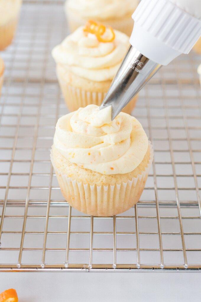 Mimosa Cupcakes Recipe