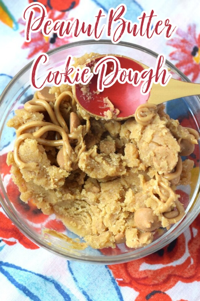 Peanut Butter Cookie Dough - The perfect amount of peanut butter cookie dough for two! Eggless and takes just minutes to make! Edible Cookie Dough | No Bake Cookie Dough | Peanut Butter Cookie Dough