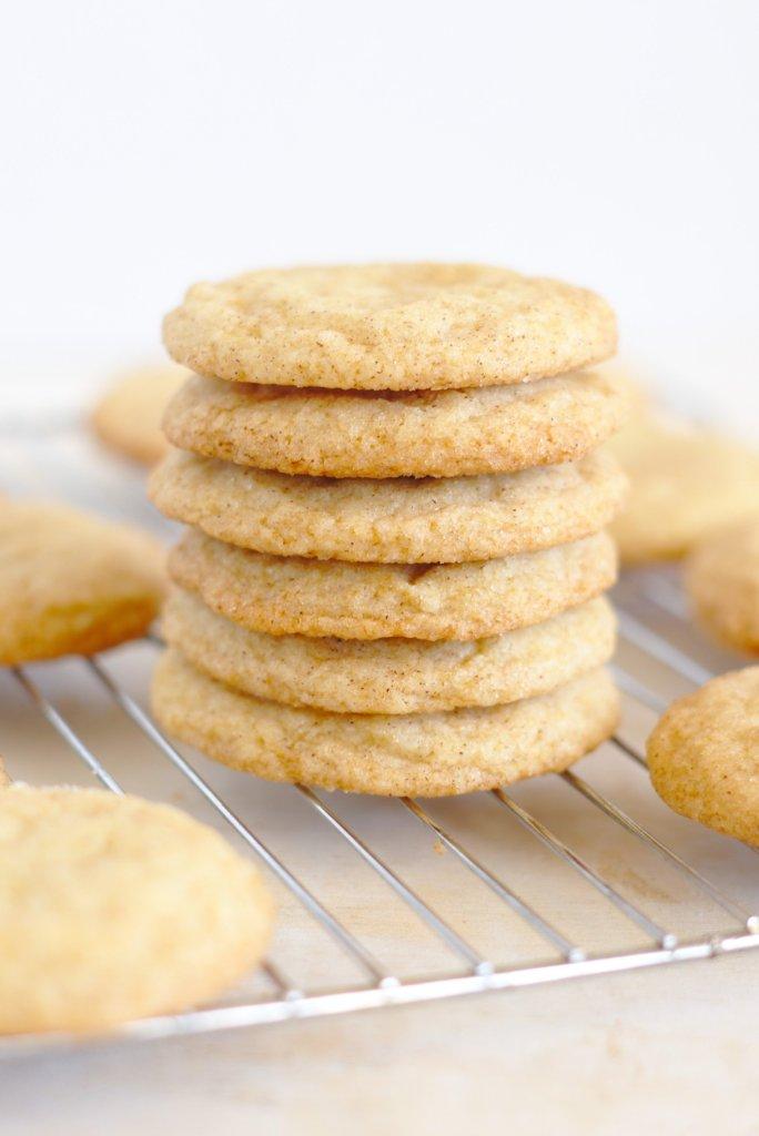 Vanilla Bean Snickerdoodle Cookies
