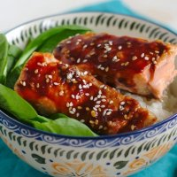Baked Asian Salmon