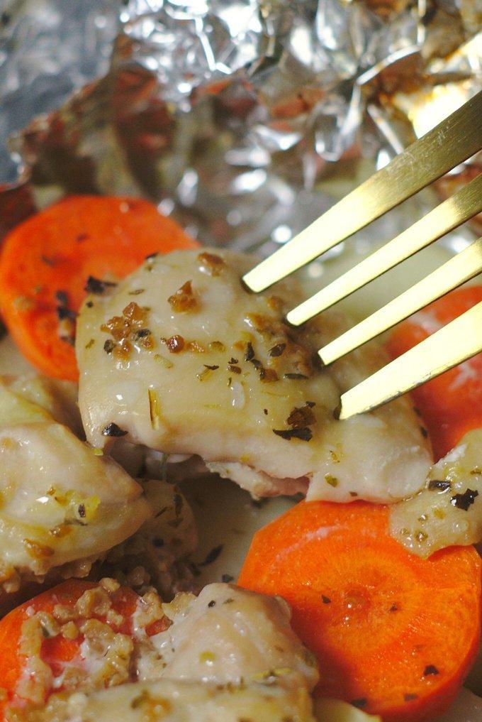 Chicken Foil Packet Recipe