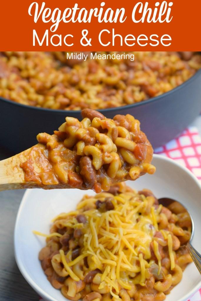Vegetarian Chili Mac and Cheese Recipe