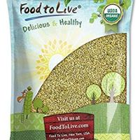 Organic Rye Berries, 5 Pounds - Whole Wheat Grain, Non-GMO, Kosher, Raw, Bulk Seeds, Product of the USA