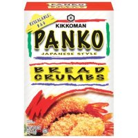 Kikkoman, Panko Bread Crumbs, 8oz Box (Pack of 3)