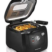 Hamilton Beach (35021) Deep Fryer, Cool Touch With Basket, 2 Liter Oil Capacity, Electric, Professional Grade