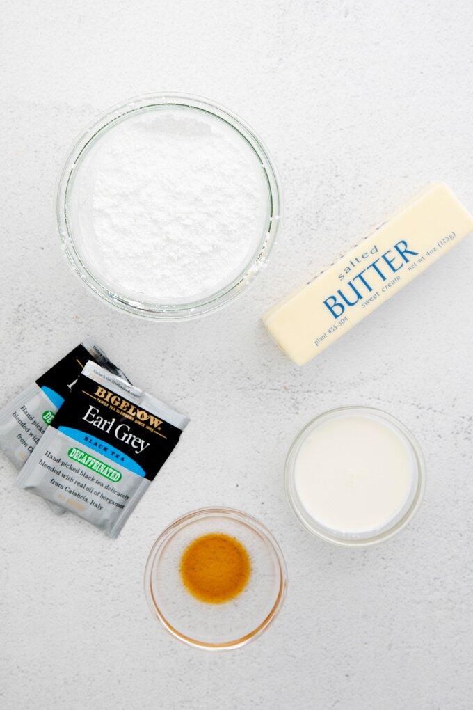Earl Grey Macarons Ingredients