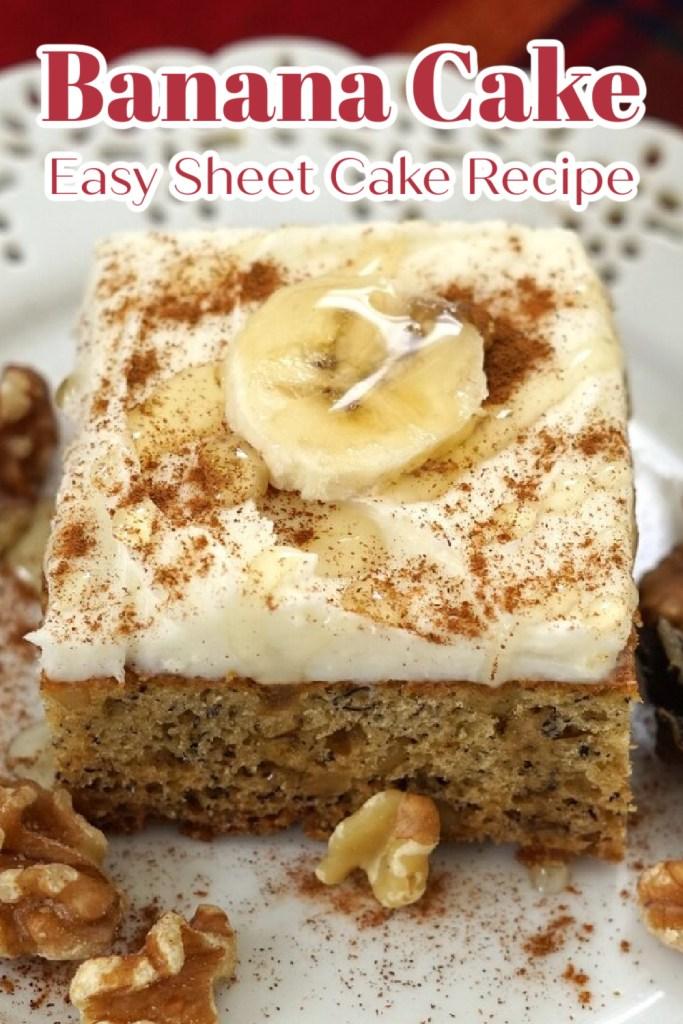 Easy Cake Recipe