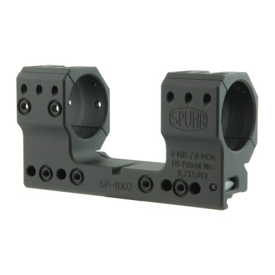 Spuhr SP-4002 Scope Mount Ø34 H38mm/1.5″ 0MIL PIC