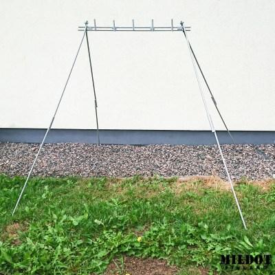Pidennysjalat metallimaalitaulujen telineelle – MILDOT