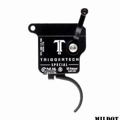 Triggertech REM 700 Special LEFT Curved Black