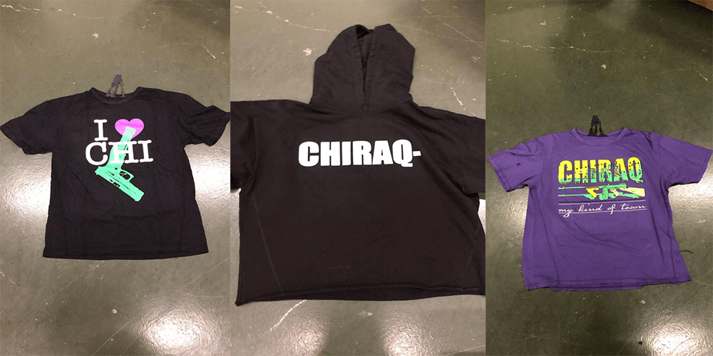 aef3dfe9 Asap bari upsets chicago with thoughtless shirt line png 759x500 Vlone  chiraq tee