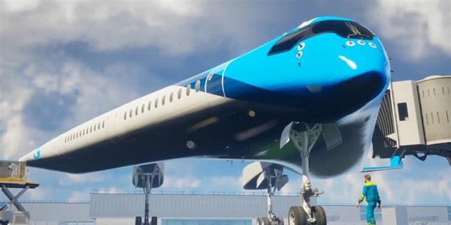 In the Flying 'V'